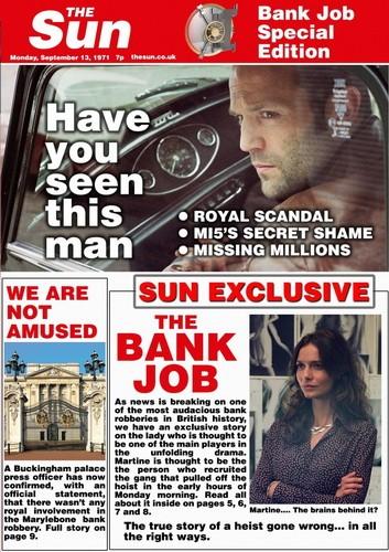 Оригинальное название: the bank job основанием фильма послужили реальные события